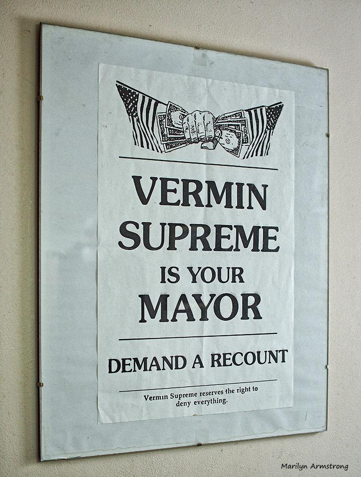 Vermin Supreme poster