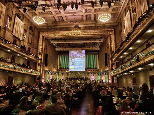 Seating in Boston's Symphony Hall
