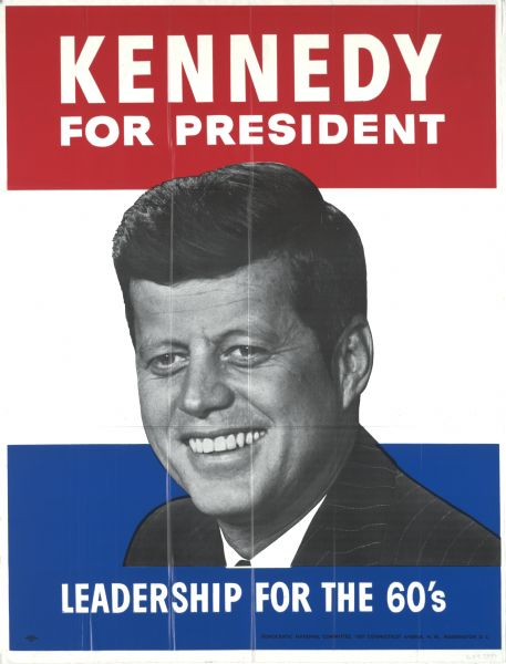 kennedy election poster