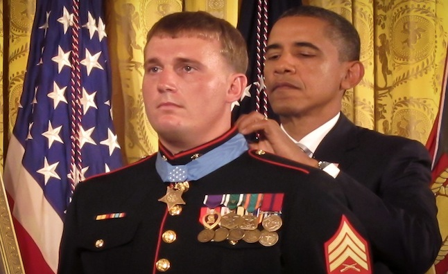 Medal of honor from Obama