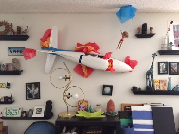 Sarahs plane