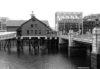 On the wharf, Boston