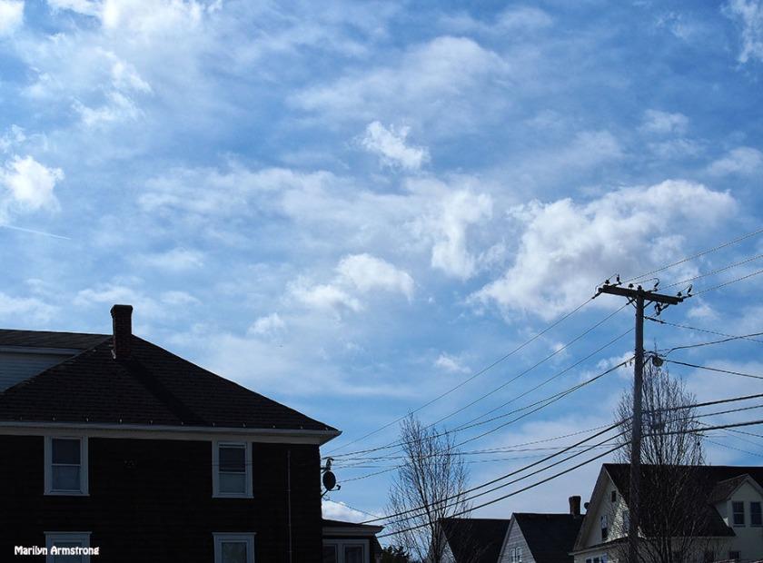Sky over Main Street