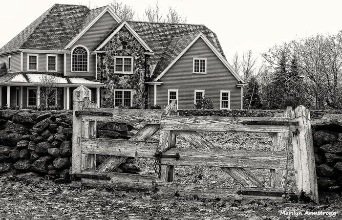 Old lock, old gate