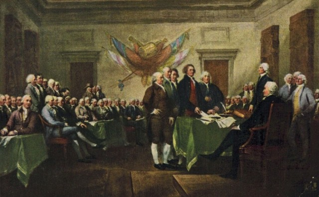 Declaration-of-Independence-signing | Serendipity Seeking ...