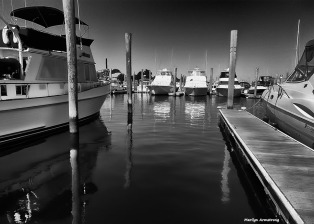 Marina, Connecticut - Water reflections