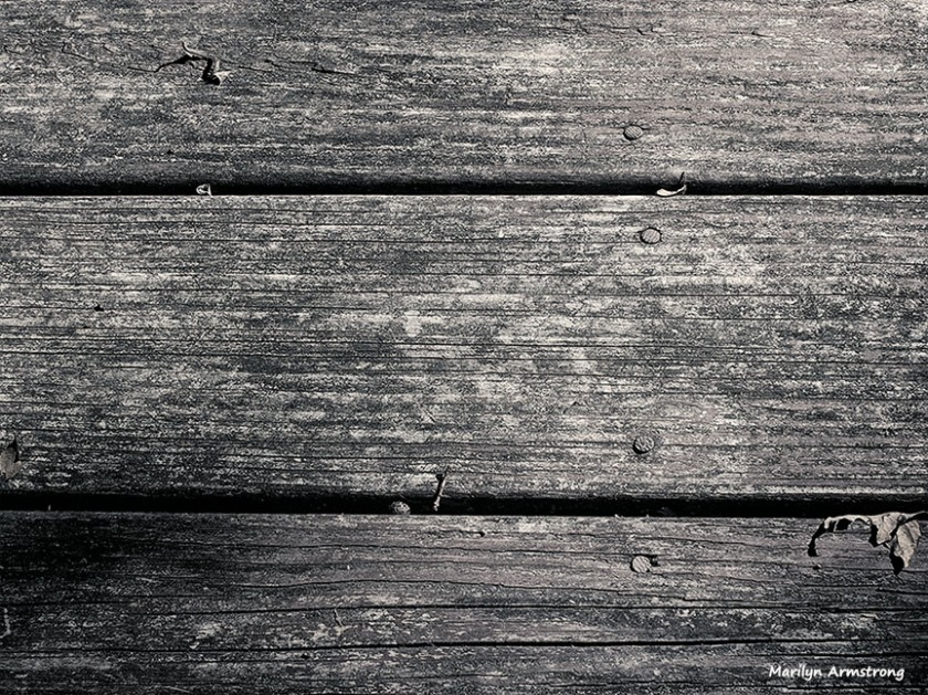 Boards. Nails. Texture. Sepia.