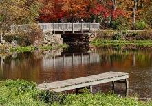 Little footbridge from River Bend