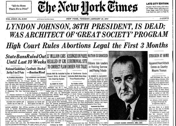 January 22, 1973 woman could finally breathe a sigh of relief. We thought the days of back room abortion were finally over. Maybe yes. But maybe it was just a temporary reprieve.