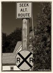 X - Crossing the tracks