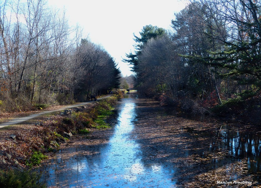 The Blackstone Canal in Uxbridge, Massachusetts