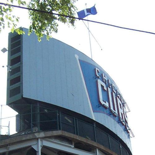 Cubs L flag