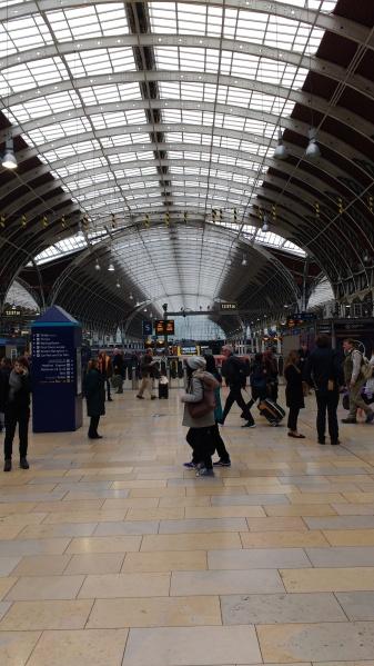 London train station