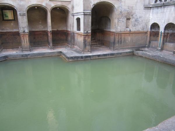 Ancient Roman bath