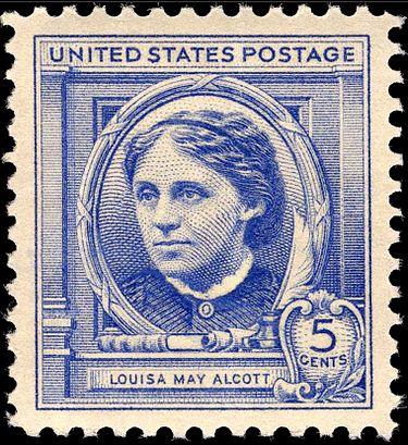 louisa_may_alcott_5c_1940_stamp