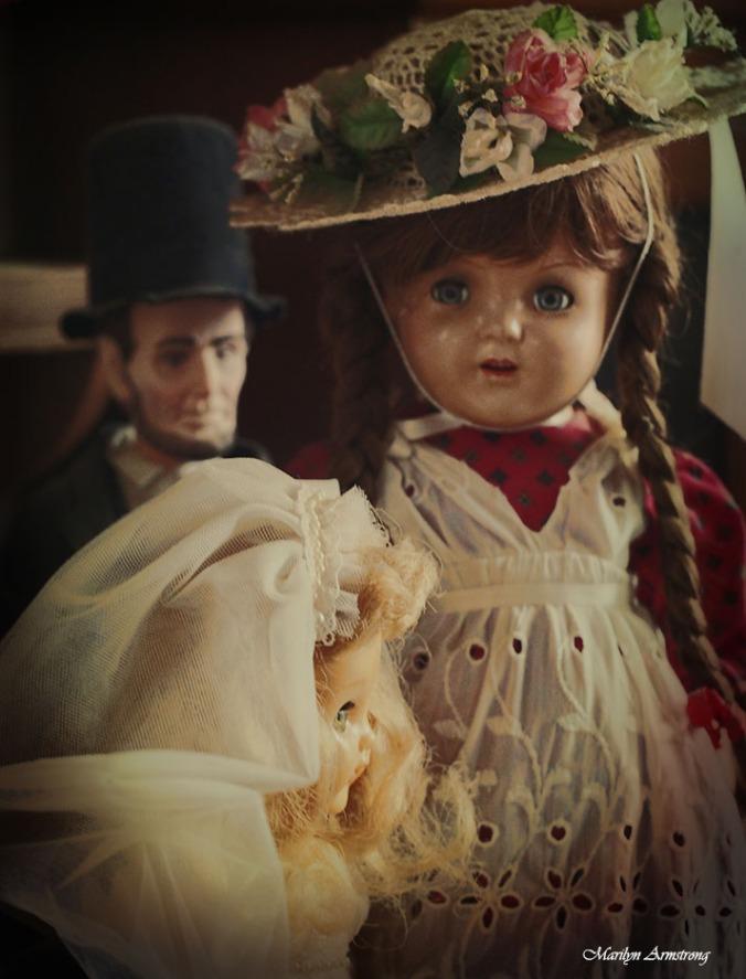 Ana McGuffey and Abe Lincoln