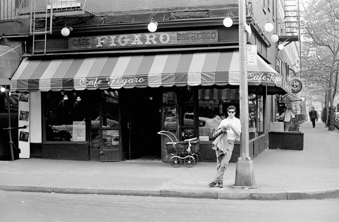 The Figaro was the coolest of the cool cafes. Everyone talked in whispers. I knocked over a table one day and almost collapsed from the humiliation. Grace was never my forte.