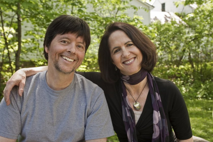 Lynn Novick with Ken Burns