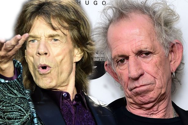 Mick Jagger and Keith Richards - The Rolling Stones are still rolling along, and gathering no moss.