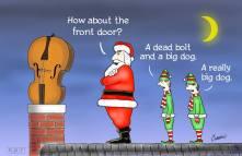 santa-and-a-bass