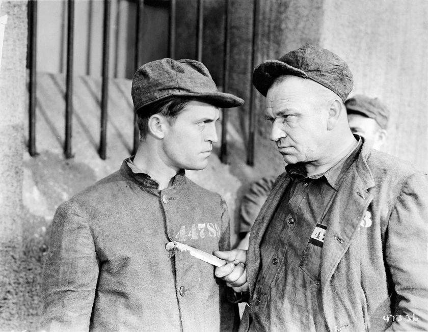 Chester Morris and Wallace Beery in The Big House