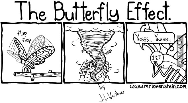 Image result for butterfly effect