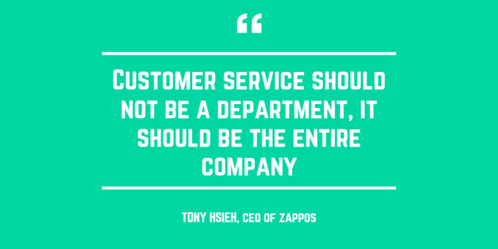 And this is why I shop at Zappos. Because they say this and they mean it.