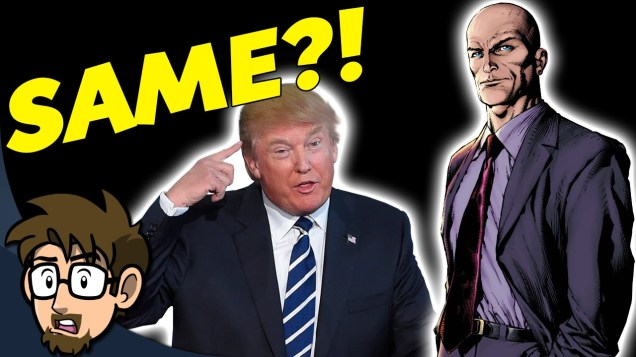 They smell the same, they think the same ... it's Lex Luthor and he's in charge! OMG!