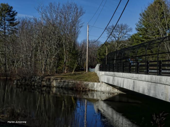 The bridge over the Blackstone in Rhode Island