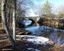 February canal and river