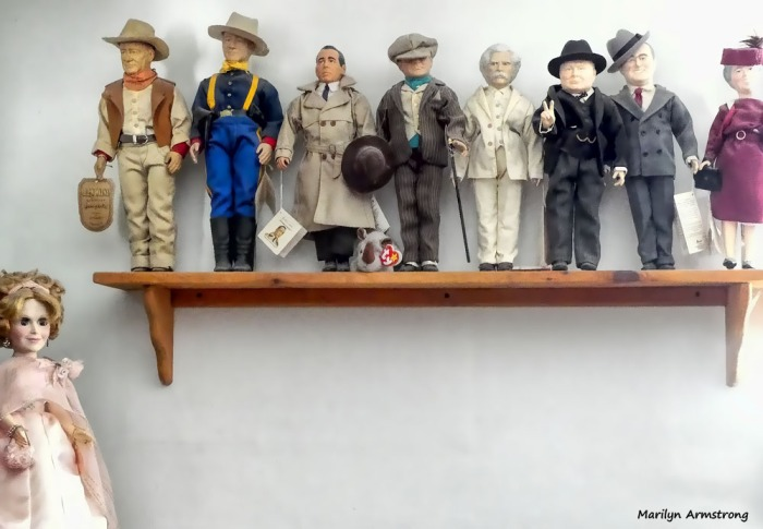 History and movie dolls