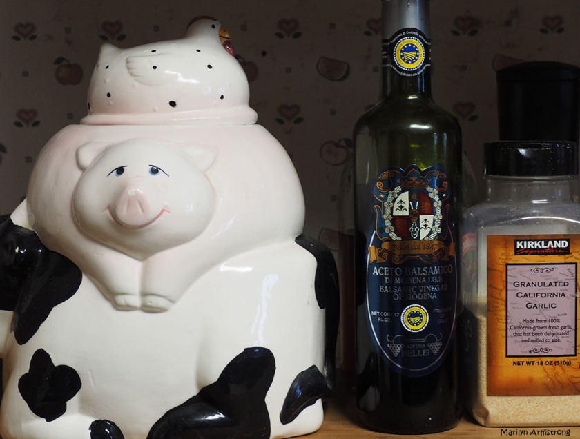 Strange kitchen companions