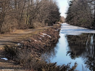 February heat wave Canal