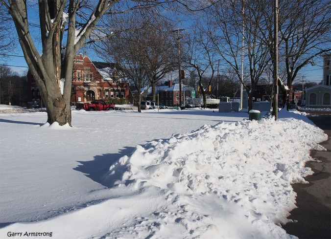 More snow on the Commons