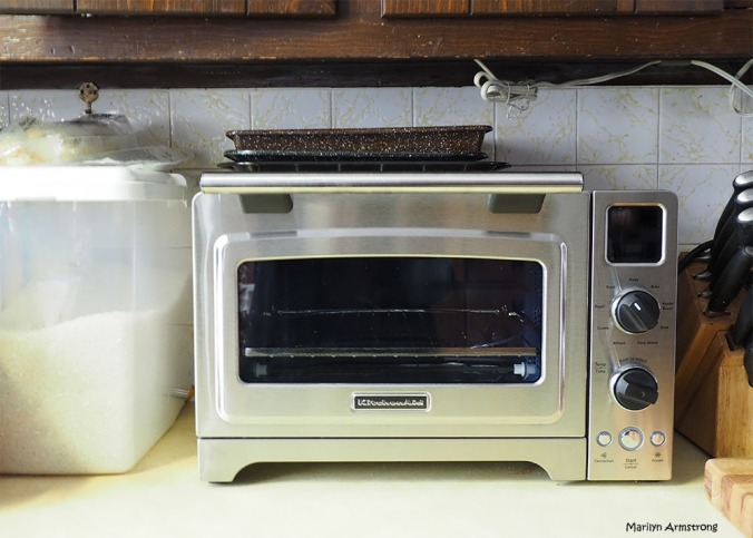 oven rice counter