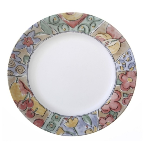 impressionist flat plate corelle