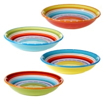 painted pasta bowls