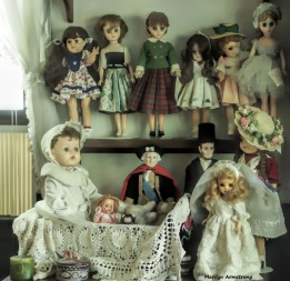 I play with dolls