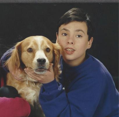 David at 13