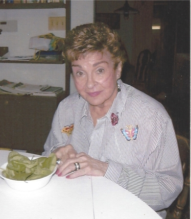 Mom shortly before she died at 85