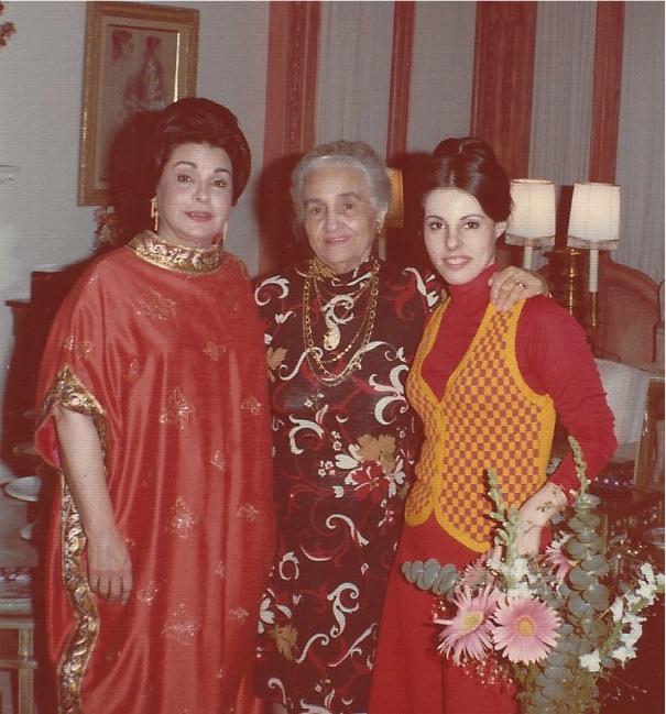 Me, my mom and my grandmother