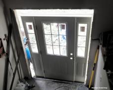 Building the new front door