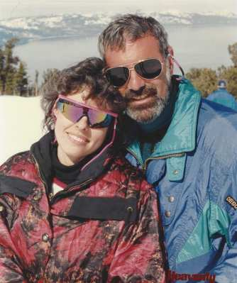 Larry and me in 1996