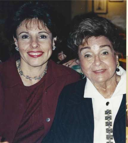 Me and Mom in 2002, shortly before she died