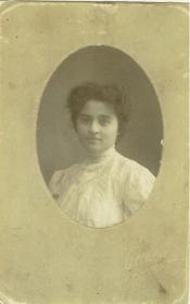 Sarah as a young woman