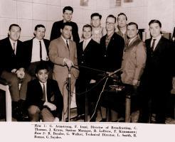 Garry - College days at WVHC (1963)