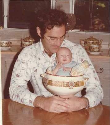 David in a soup tureen