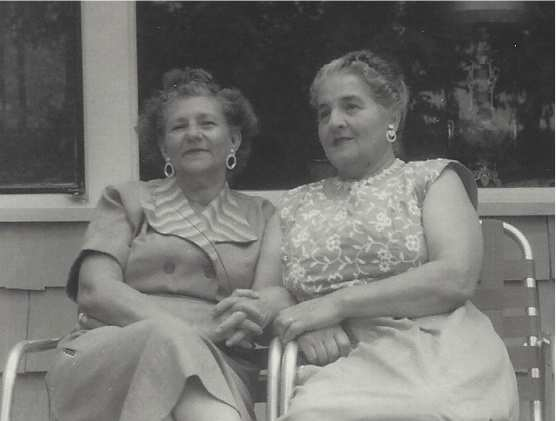 Grandma and Esther in the 1960's