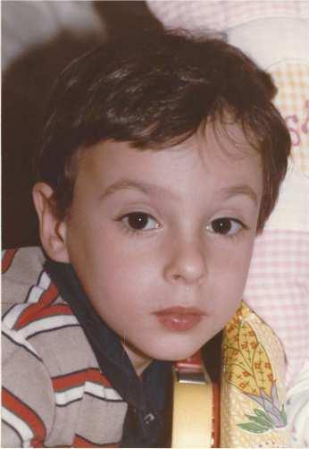 David at age five
