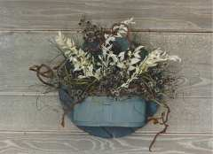 wall hanging dried flowers